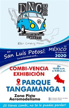Día Nacional de la Combi San Luis Potosí 2020