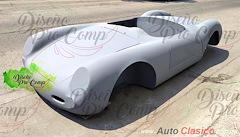 Porsche Spyder 550 carrocería