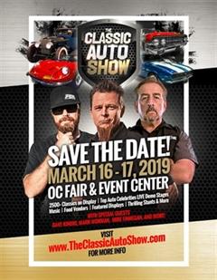 Más información de The Classic Auto Show March 2019