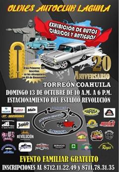 20vo Aniversario Oldies Auto Club Laguna