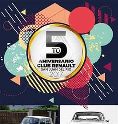 Más información de 5o Aniversario Club Renault San Juan