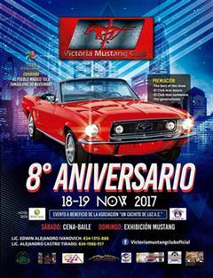 Más información de 8o Aniversario Victoria Mustang Club