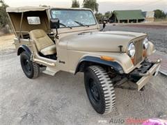 1982 Jeep CJ7 Convertible
