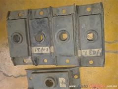 Soportes frontal motor ford pick up 54-56