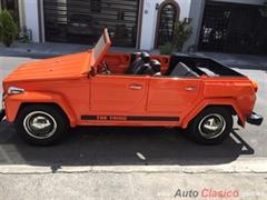 Día Nacional del Auto Antiguo Monterrey 2019 - Volkswagen Safari 1976
