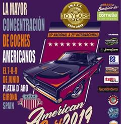Más información de American Cars Platja d'Aro 2019