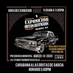 1a Exposición Autos Clásicos García N.L