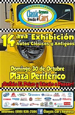 14ava Exhibición Autos Clásicos y Antiguos Reynosa