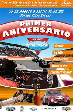 19 Aniversario del Museo de Autos y del Transporte de Monterrey
