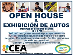 CEA Open House & Exhibición de Autos Reynosa