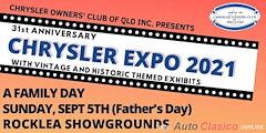 Más información de 31st Anniversary Chrysler Expo 2021