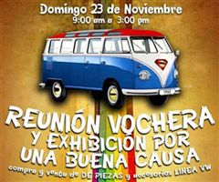 Más información de Reunión Vochera y Exhibición por Una Buena Causa