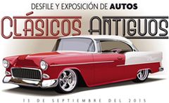 Más información de Desfile y Exposición de Autos Clásicos y Antiguos