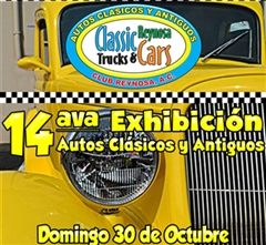 Más información de 14ava Exhibición Autos Clásicos y Antiguos Reynosa