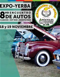 Más información de Expo-Yerba 8vo Encuentro de Autos Clásicos
