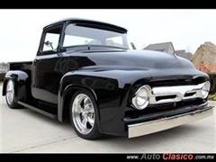 Día Nacional del Auto Antiguo Monterrey 2019 - Ford pick up 1956