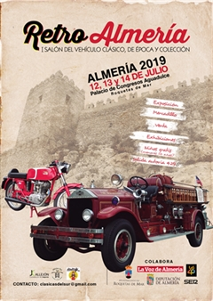 Más información de Retro Almeria - I Salon del vehiculo clasico en Almeria