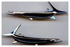 Emblemas Barracuda Pescados para Salpicaderas