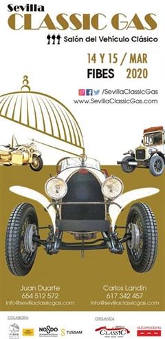Sevilla Classic Gas, III Salón del Vehículo Clásico