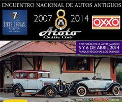 Más información de 8o Encuentro Nacional de Autos Antiguos Atotonilco