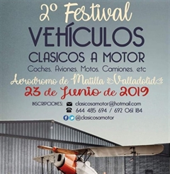 Más información de 2o Festival Clásicos a Motor. Coches, Motos, Aviones...