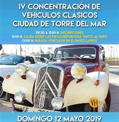 Más información de IV Concentración de Vehículos Clásicos Ciudad de Torre del Mar