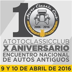 Más información de 10o Encuentro Nacional de Autos Antiguos Atotonilco