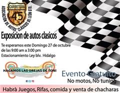 Asociación de Autos Clásicos de León, Exposición de Autos Clásicos 2019