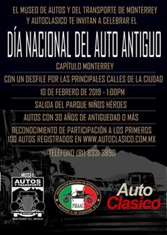 Día Nacional del Auto Antiguo Monterrey 2019