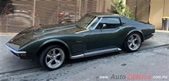 Día Nacional del Auto Antiguo Monterrey 2020 - chevrolet corvette 1971