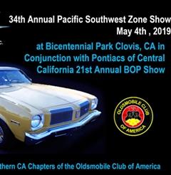 Más información de 34rd Annual Olds Club of America SouthWest Zone Meet