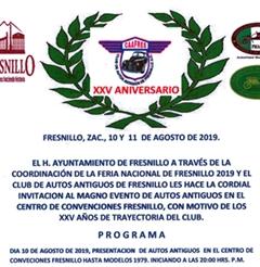 Más información de Fresnillo Caafres XXV Aniversario