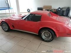 Día Nacional del Auto Antiguo Monterrey 2020 - Chevrolet Corvette Stingray 1974