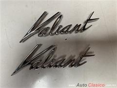 VALIANT 1963 A 1964 LETRAS NUEVAS