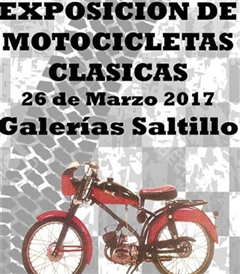 Más información de Exposición de Motocicletas Clásicas