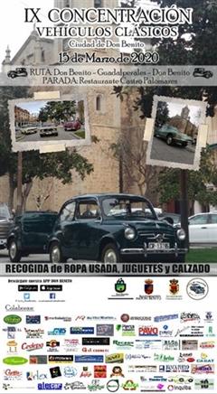 9a Concentración de Vehículos Clásicos e Históricos Ciudad de Don Benito