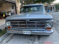 Día Nacional del Auto Antiguo Monterrey 2019 - Ford F-100 1969