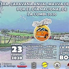 Más información de 3a Caravana Masiva De Combis Por El Día Nacional De La Combi 2020