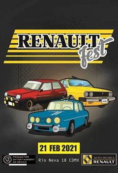 Renault Fest Ciudad de México 2020