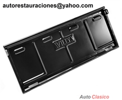 Puerta Trasera Jeep Willys 1946-1968