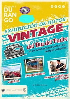 Exhibición de Autos Vintage del Día del Padre Durango 2021