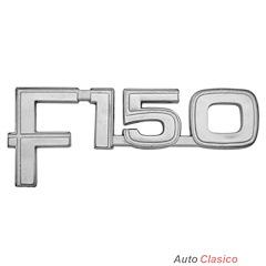 EMBLEMA LETRERO F150 FORD PICK UP 1980 - 1986