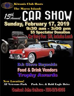 Más información de 15th Annual Marco Island Car Show