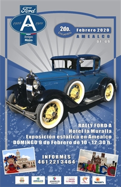 2o Encuentro Ford A Amigos México