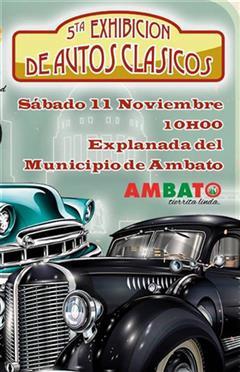 Más información de 5ta Exhibición de Autos Clásicos