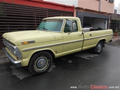 Día Nacional del Auto Antiguo Monterrey 2019 - Ford F100 1968