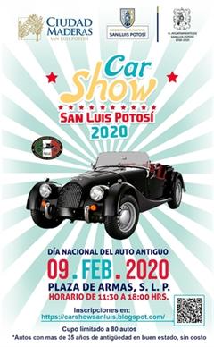 Día Nacional del Auto Antiguo San Luis - Show Car 2020