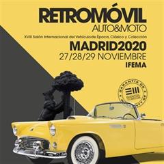 Más información de XVIII Retromóvil Madrid