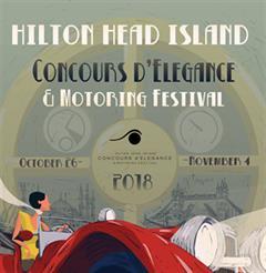 Más información de Hilton Head Island Concours d'Elegance & Motoring Festival 2018