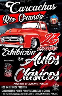 Exhibición de Autos Clásicos Carcachas Río Grande 2020